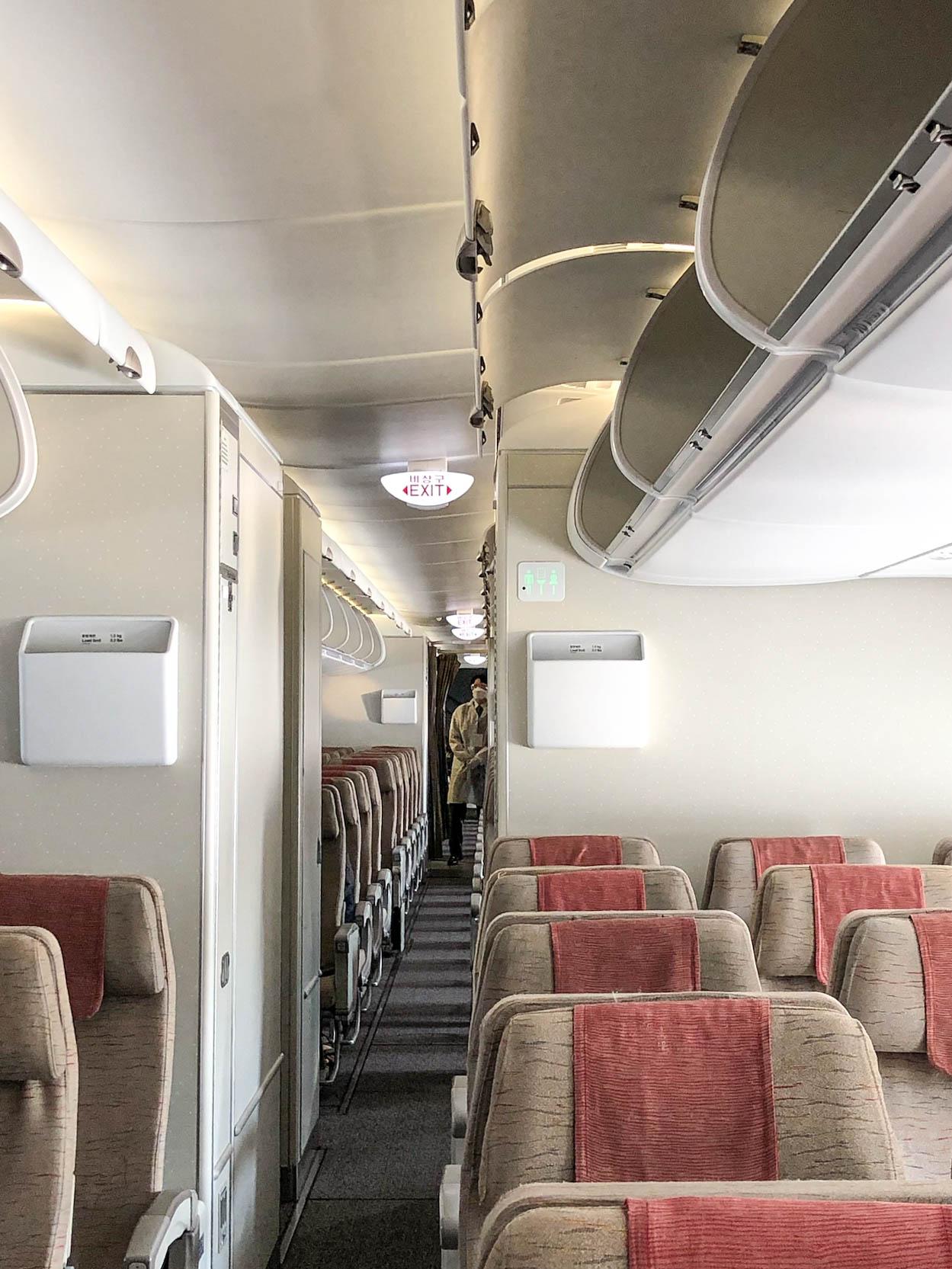 A380 기내 1F 이코노미석