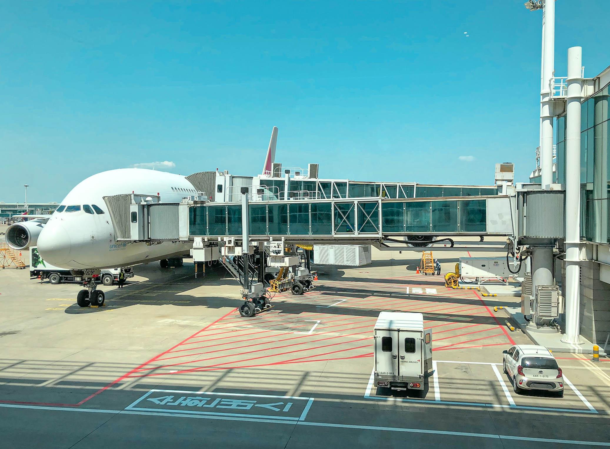 인천공항의 풍경
